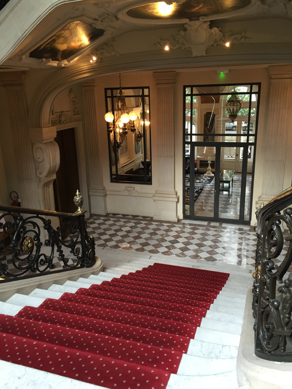 First floor of the Salons France Ameriques a destination wedding venue in Paris
