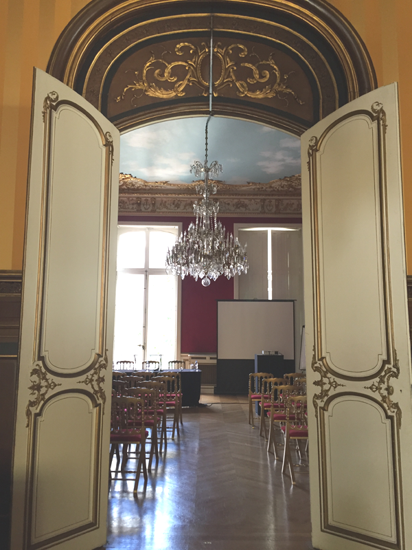Lafayette room at the Salons France Ameriques a destination wedding venue in Paris