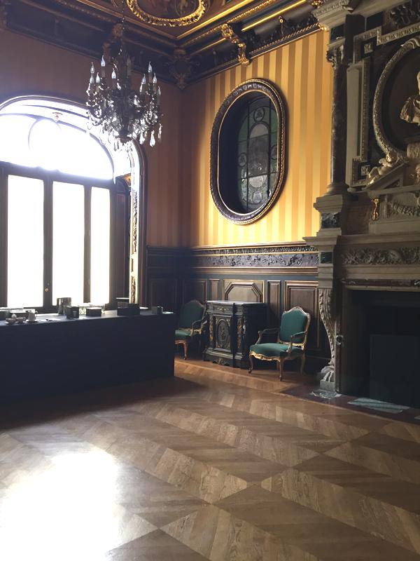 Montcalm room at the Salons France Ameriques a destination wedding venue in Paris