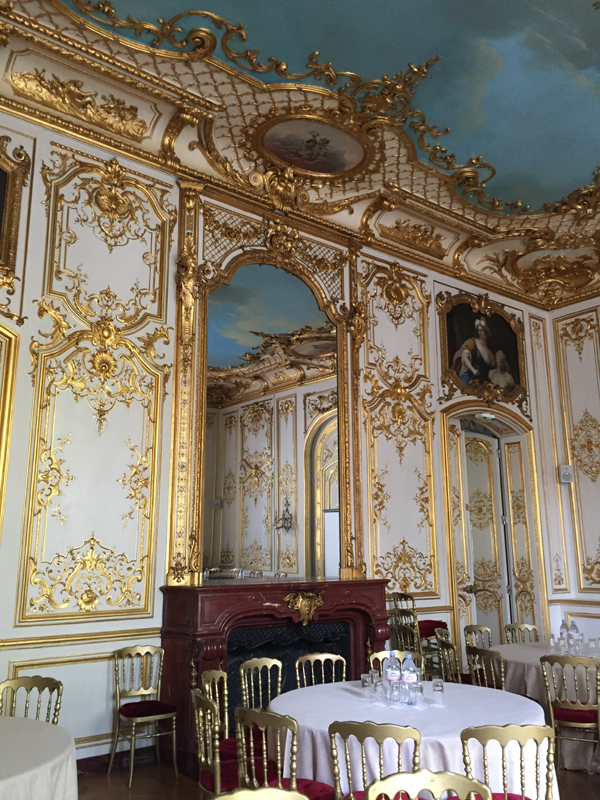 Washington room at the Salons France Ameriques a destination wedding venue in Paris