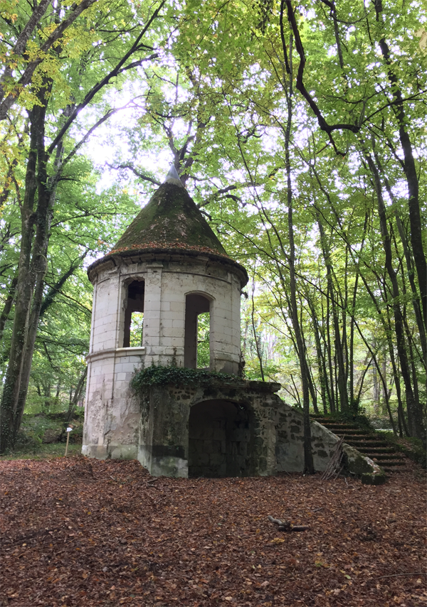 Forest Tower at the Chateau de Jalesnes a Destination Wedding venue in France