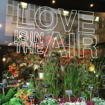 Flower shop window in Paris by Jamie Chang of Mango Muse Events