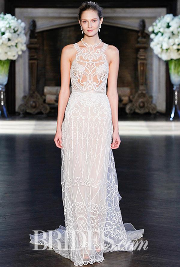 Alon Livne Cutout Bridal Gown Fall 2016