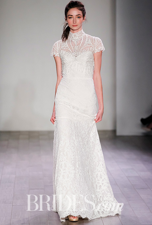 Alvina Valenta Lace Bridal Gown Fall 2016