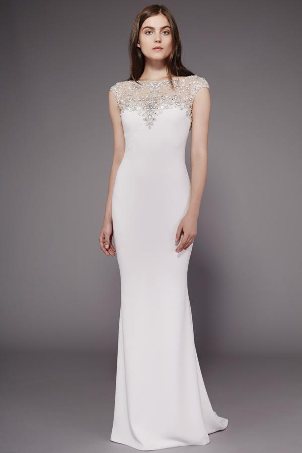 Badgley Mischka beaded Bridal Gown Fall 2016