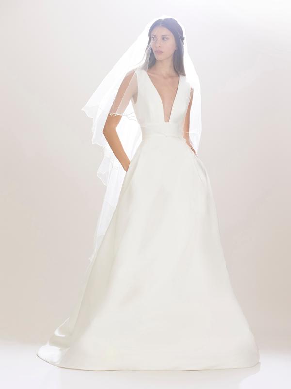 Carolina Herrera Bridal Gown Fall 2016
