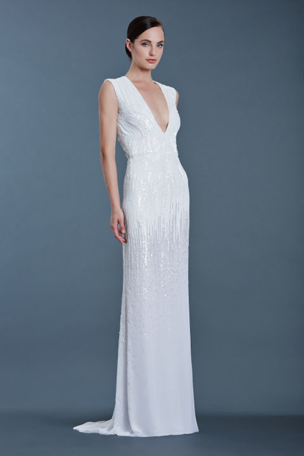 HBZ Bridal gown by J Mendel