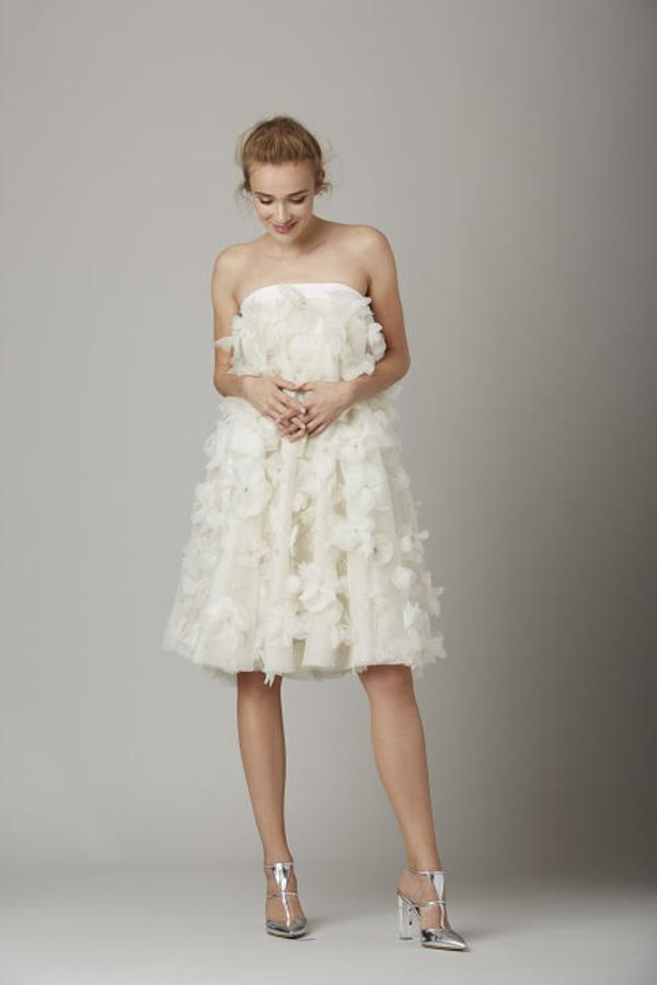 Lela Rose Short wedding gown Fall 2016