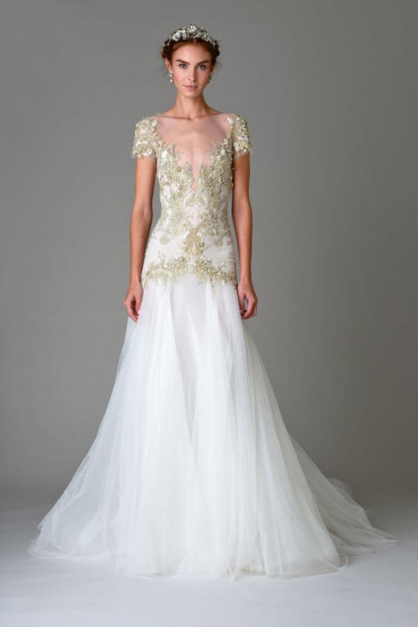 Marchesa Bridal Gown Fall 2016