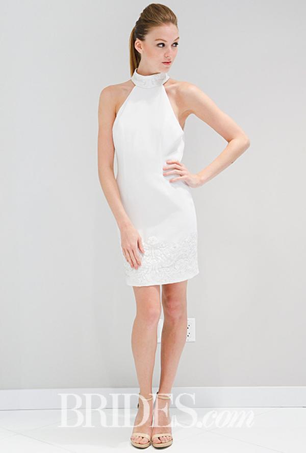 Randi Rahm Short Wedding Dress Fall 2016
