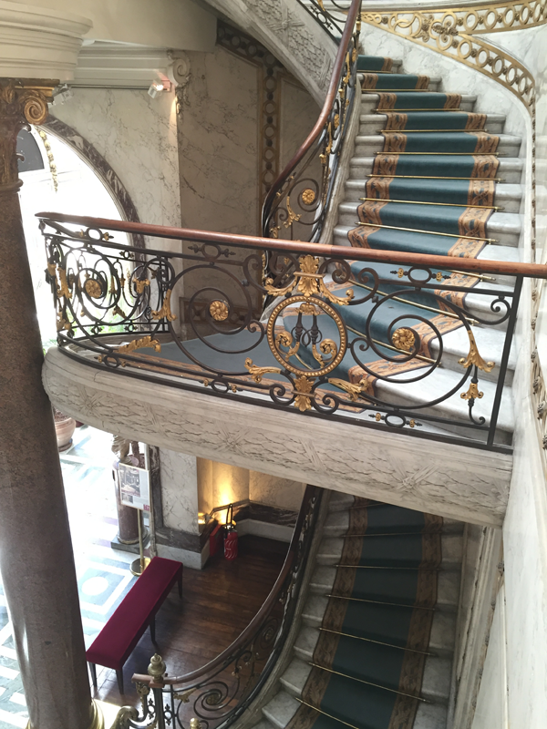 Jacquemart Andre museum staircase Paris wedding venue Destination wedding planner Mango Muse Events