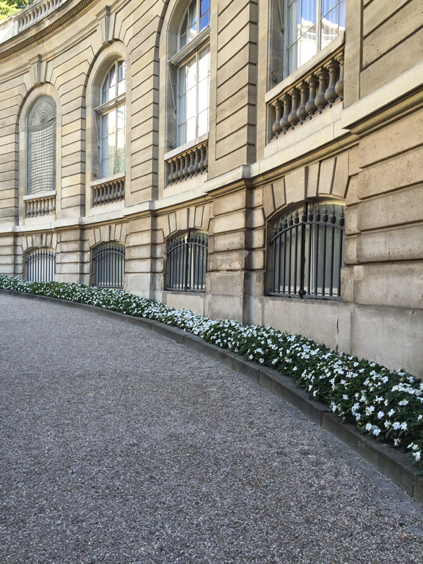 Jacquemart Andre museum entrance walk way Paris wedding venue Destination wedding planner Mango Muse Events