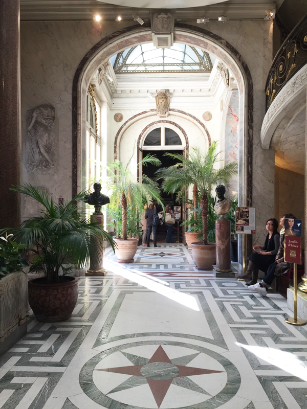 Jacquemart Andre museum winter garden Paris wedding venue Destination wedding planner Mango Muse Events