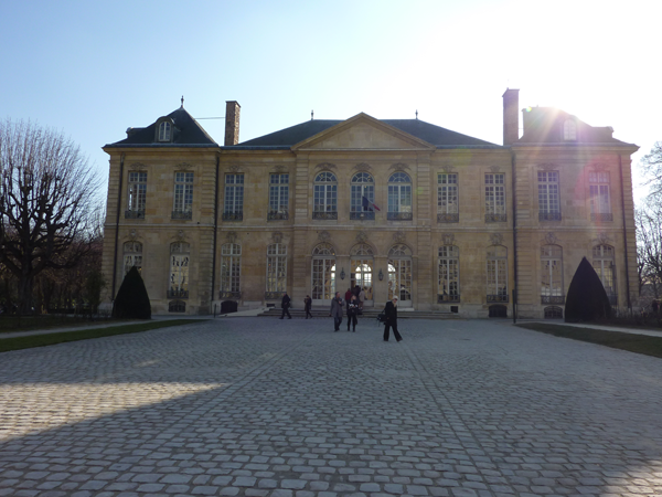 Rodin Museum and Mansion a wedding venue in Paris France by Destination wedding planner Mango Muse Events