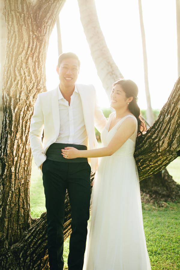 Destination Wedding Hawaii by Jamie Chang destination wedding planner of Mango Muse Events.