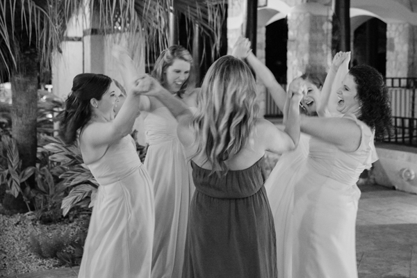 Joyful Bridesmaids at Wedding coordinated by Jamie Chang of Mango Muse Events