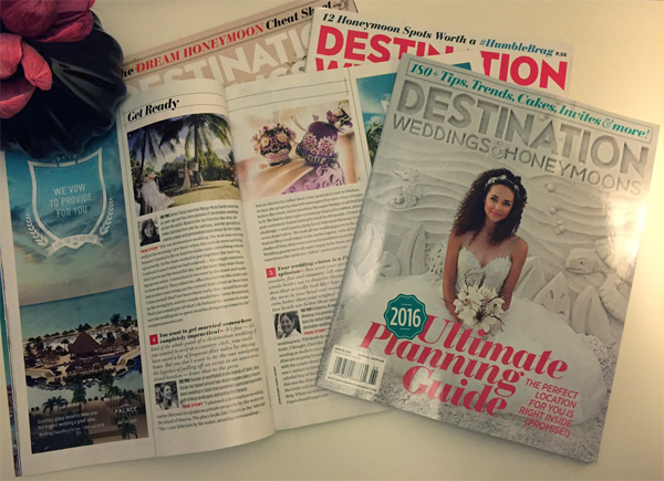 Jamie Chang of Mango Muse Events listed as an A-list Planner in Destination Weddings & Honeymoons magazine