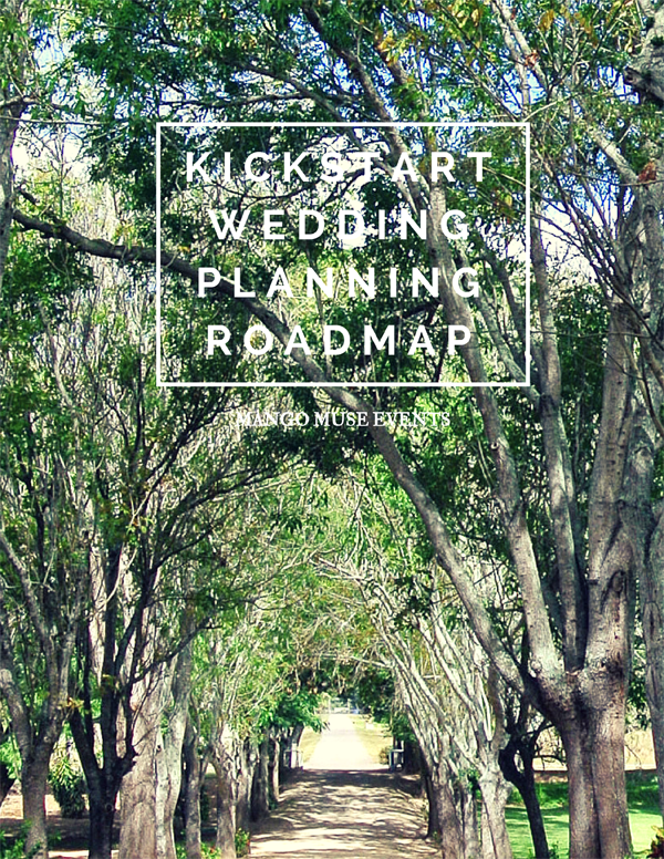Kickstart wedding planning sessions by Jamie Chang of Mango Muse Events