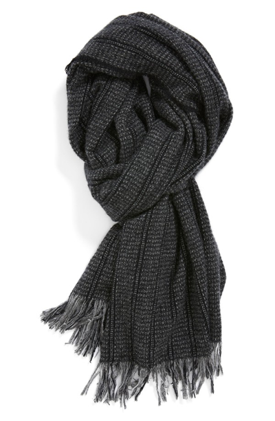 John Varvatos Mens scarf Christmas holiday gift idea by Jamie Chang of Mango Muse Events