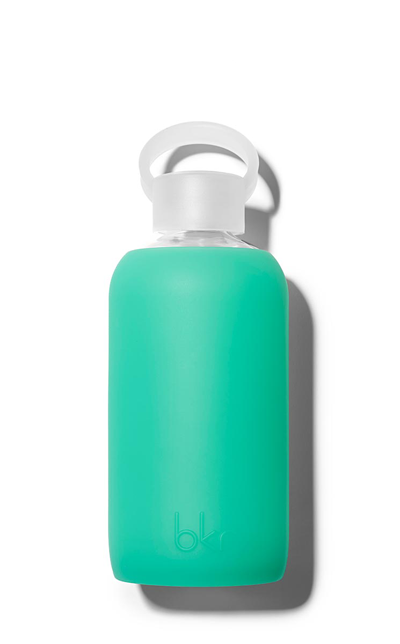 Glass Water bottle Christmas holiday gift idea by Jamie Chang of Mango Muse Events