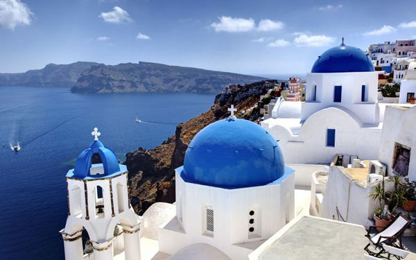 Santorini Greece, a international travel destination
