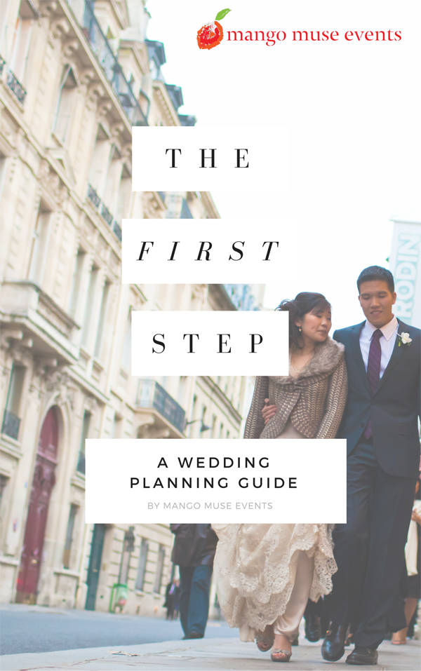 A guide on how to start planning a wedding