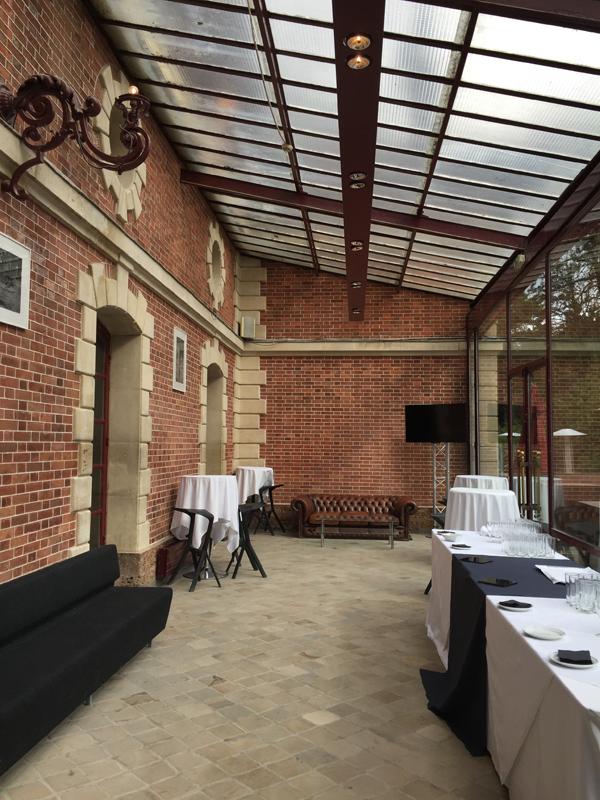 The Glass veranda of Bagatelle Park Destination Wedding Venue in Bois de Boulogne in Paris France by destination wedding planner Mango Muse Events