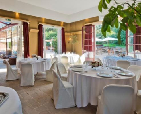 The Pages Lounge of Bagatelle Park Destination Wedding Venue reception room in Bois de Boulogne in Paris France Destination wedding planner Mango Muse Events