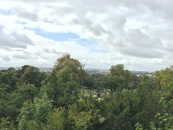 Bois de Boulogne Bagatelle Park in Paris France