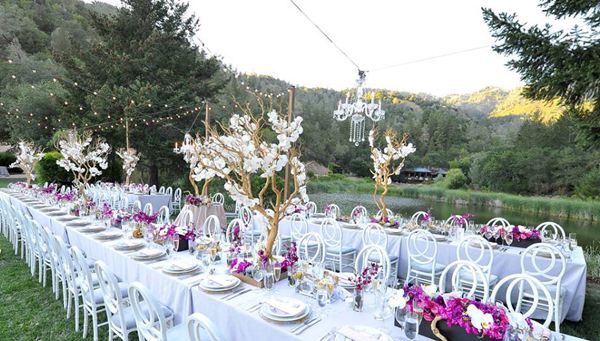 Destination wedding venue Calistoga Ranch Resort