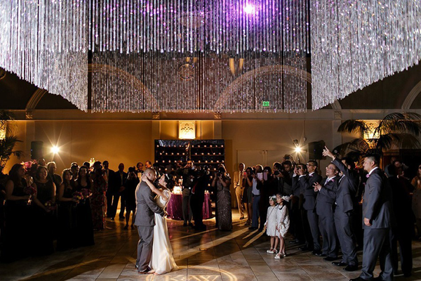 Destination wedding venue Casa Real at Ruby Hill Winery in Pleasanton, California