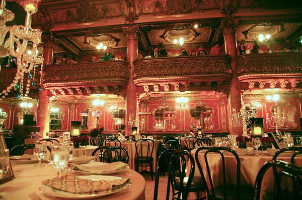Destination wedding venue Great American Music Hall in San Francisco, California