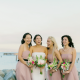 Bride and bridesmaids wedding party at a San Francisco wedding by Destination wedding planner Mango Muse Events
