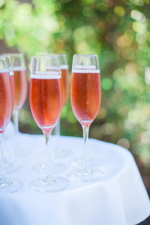 Champagne cocktail for a destination wedding by Destination Wedding Planner, Mango Muse Events