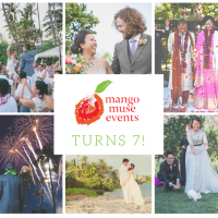 Happy 7th Birthday to Destination Wedding Planner Mango Muse Events