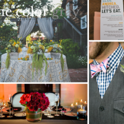 The color gray goes with all wedding colors - A quick wedding design tip by destination wedding planner Mango Muse Events