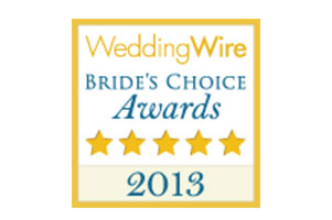 2013 Wedding Wire Bride's Choice Award Winner Destination wedding planner Mango Muse Events