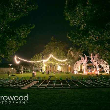 Burning man inspired wedding in Sonoma at Cornerstone Sonoma by Destination wedding planner Mango Muse Events