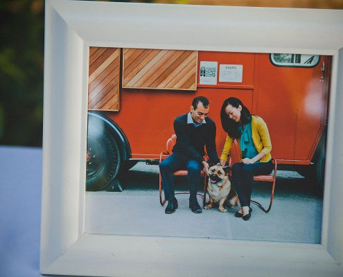 Couple photo for guest book at a multicultural wedding by Destination wedding planner Mango Muse Events