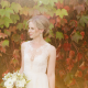 Bride in a lace wedding dress for her Sonoma destination wedding by Destination wedding planner Mango Muse Events