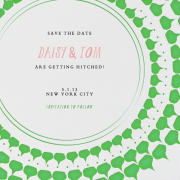 Save the Dates by Paperless Post shared by Destination wedding planner Mango Muse Events