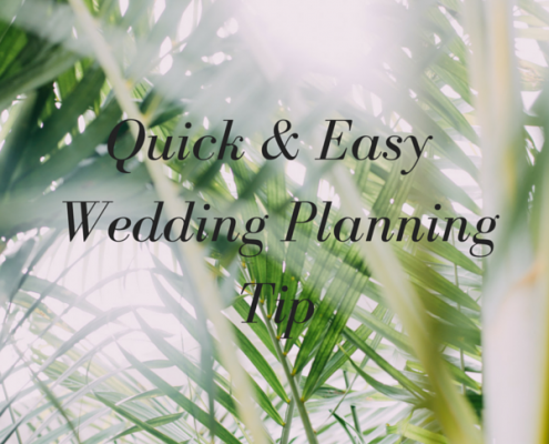 Quick Wedding Planning Tip by Destination Wedding Planner Mango Muse Events
