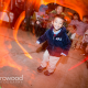 Children in the wedding dancing at a Sonoma wedding reception by Destination wedding planner Mango Muse Events