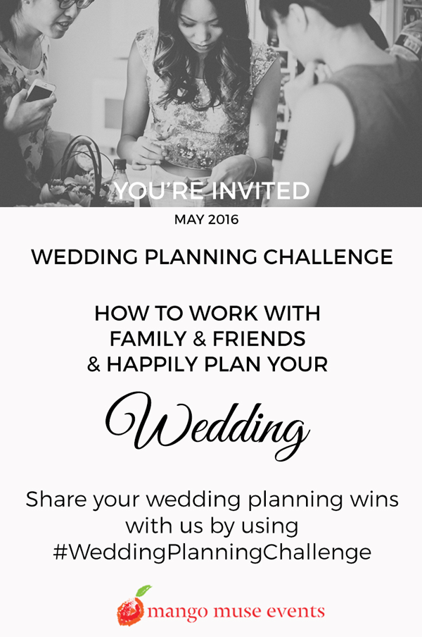 May Wedding Planning Challenge by Destination Wedding Planner Mango Muse Events