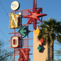 The Neon Museum, a unique Las Vegas Wedding Venue perfect for a destination wedding