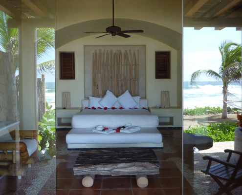Hotel Wedding Accommodations for a Mexico Destination Wedding by Destination Wedding Planner Mango Muse Events