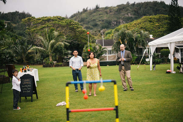 Lawn games at an outdoor wedding - 6 fun ideas for summer weddings by Destination wedding planner Mango Muse Events