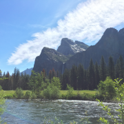 Merced river and Yosemite valley taken by Destination wedding planner Mango Muse Events