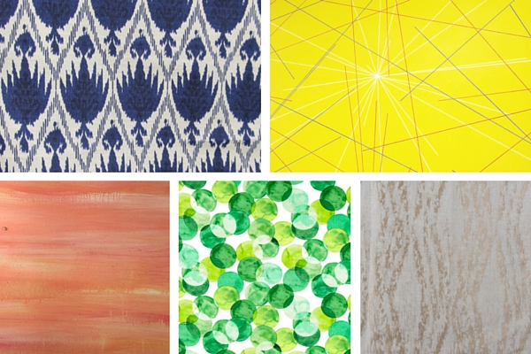 Prints and patterns summer party inspiration board by Destination wedding planner Mango Muse Events