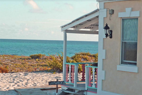 Honeymoon location at Castaway in Salt Cay in the Turks and Caicos Islands
